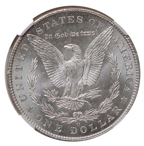 1901 O S$1 MS reverse