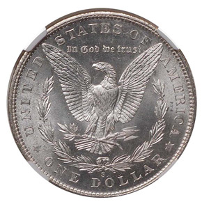 1901 S S$1 MS reverse