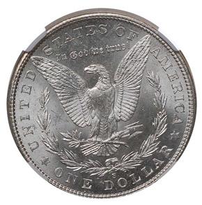 1904 S S$1 MS reverse