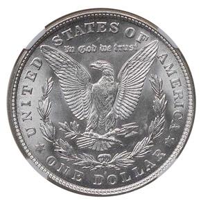 1921 S S$1 MS reverse