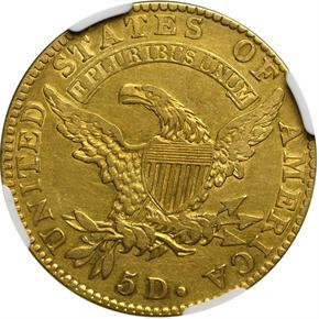 1823 $5 MS reverse