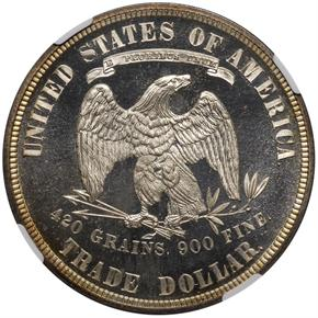 1881 T$1 PF reverse