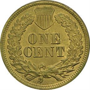 1864 J-356a 1C MS reverse