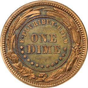 1879 J-1587 10C PF reverse