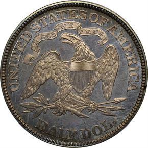 1870 J-933 50C PF reverse