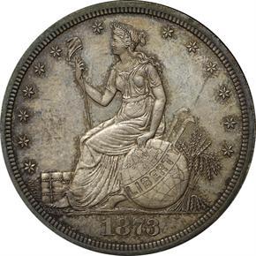 1873 J-1294 T$1 PF obverse