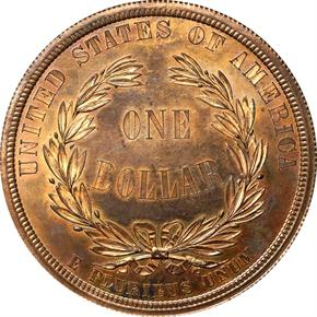 1876 J-1465 S$1 PF reverse