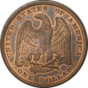 1879 J-1612 S$1 PF reverse