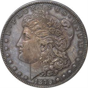 1879 J-1615 S$1 PF obverse