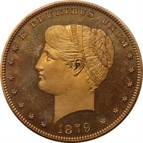 1879 J-1632 S$1 PF obverse