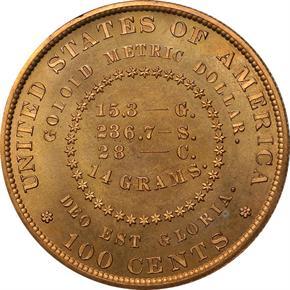 1879 J-1632 S$1 PF reverse