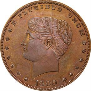 1880 J-1655 S$1 PF obverse