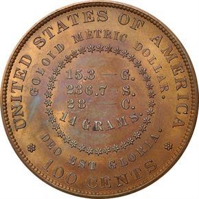 1880 J-1655 S$1 PF reverse