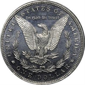 1885 J-1749 S$1 PF reverse