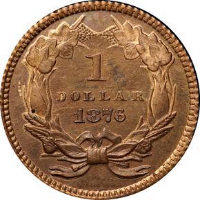 1876 J-1478 G$1 PF reverse