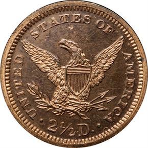 1865 J-439 $2.5 PF reverse