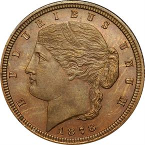 1878 J-1567 $2.5 PF obverse