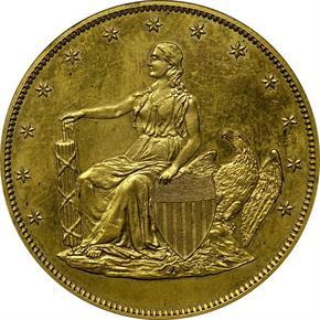 1859 J-257 GILT $20 PF obverse