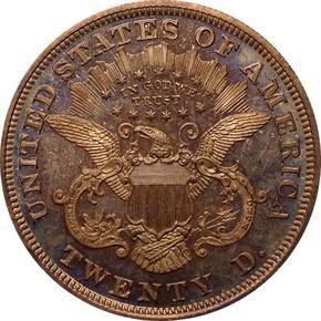 1871 J-1176 $20 PF reverse