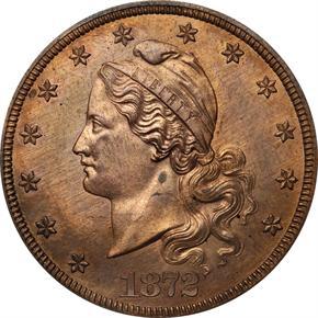 1872 J-1251 $20 PF obverse