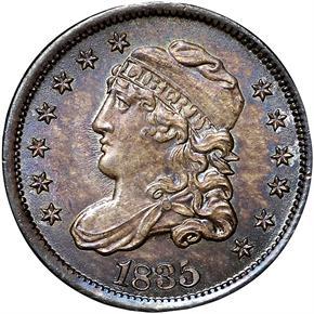 1835 H10C MS obverse