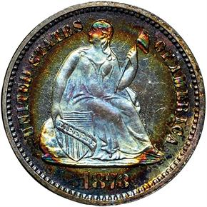 1873 H10C PF obverse