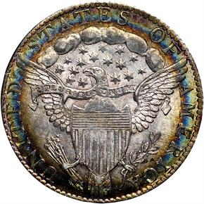 1798/7 16 STARS REV JR-1 10C MS reverse