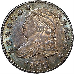 1824/2 10C MS obverse