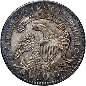 1827 10C MS reverse