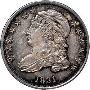 1831 10C MS obverse