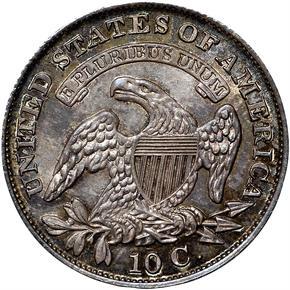 1831 10C MS reverse