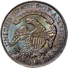 1835 10C MS reverse