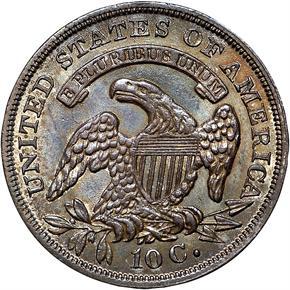 1836 10C MS reverse