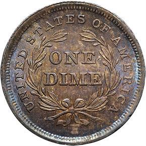 1839 10C MS reverse