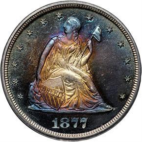 1877 20C PF obverse
