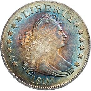 1807 25C MS obverse