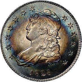 1828 25C MS obverse