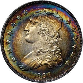 1836 25C MS obverse