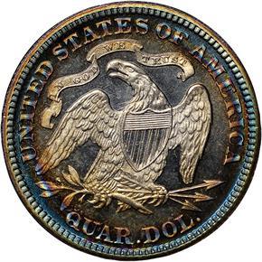 1881 25C PF reverse