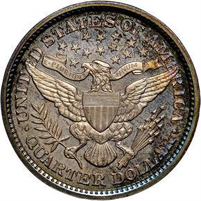 1899 25C PF reverse