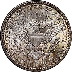 1915 D 25C MS reverse