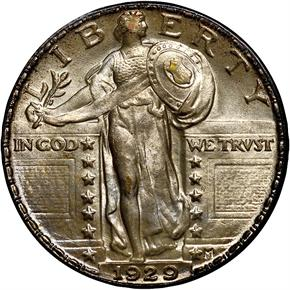 1929 25C MS obverse