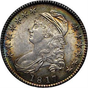 1817 50C MS obverse