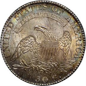 1819/8 50C MS reverse