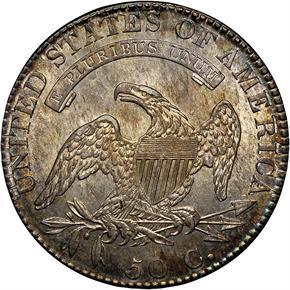 1819 50C MS reverse