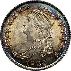 1822 50C MS obverse
