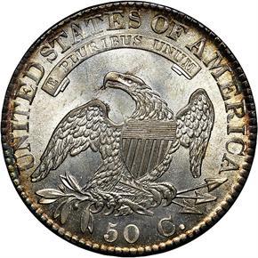 1824 50C MS reverse