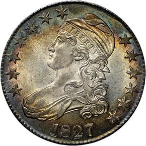 1827 50C MS obverse