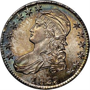 1829/1827 50C MS obverse
