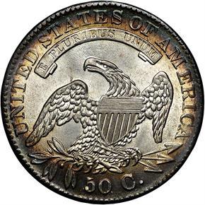 1833 50C MS reverse